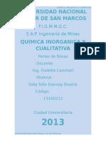 3er Informe Inorganica Perlas de Borax