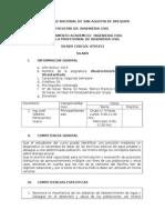 Silabo Abastecimiento IIS-2015