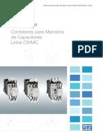 WEG Contatores Para Manobra de Capacitores Linha Cwmc 50041772 Catalogo Portugues Br