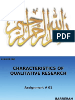 Qualitative Ppt characteristics of qualitative research