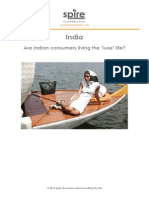 India Are Indian Consumers Living the Luxe Life