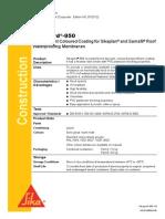 Sika PDS E Sikagard-950