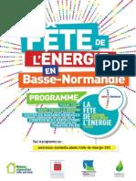 Le programme complet en Basse-Normandie