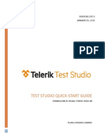 Telerik Test Studio Quick Start Guide