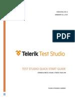 Telerik Test Studio Quick Start Guide