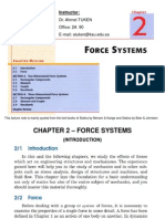 CH2-Force Systems-Part a (20 Slides)