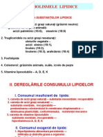 8. DISMETABOLISMELE  LIPIDICE