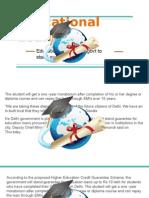 Education Loans- Delhi Govt to Stand Guarantee