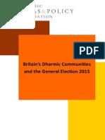 Dharmic Ideas Ge2015 Report