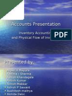 accounting presentation