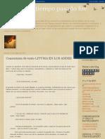 Lituma en Los Andes Resumen