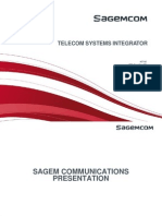 Sagemcom System Integration