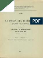 La difesa N.B.C. di reparto - Fascicolo 1 - Lineamenti ed organizzazione della difesa NBC - Annesso 2 (6117) 1975