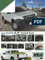 2014 Isuzu DMAX LT Brochure
