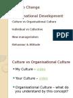 Culture Change & Organisational Development
