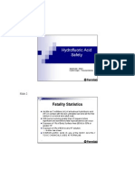Hydrofluoric Acid Safety Handout