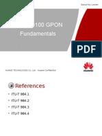 01-OBA000100 GPON Fundamentals