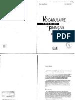 Vocabulaire Progressive Du Francais Intermediare