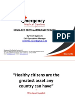 Kenya Red Cross Ambulance Service Presentation1