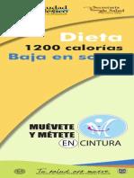 Baja Sodio 1200kcal