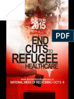 "DOCTORS FOR REFUGEE CARE ""WEEK OF RECKONING"" 2015 FEDERAL ELECTION PACKAGE"