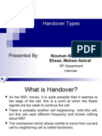 Handover Types