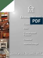 Listino Unico Domus 11.2013