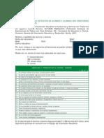 Cuestionario Detección Alumnos Con Trastornos Espectro Autista