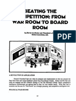Beating the Competition-From War Room to Board Room