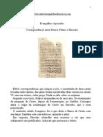 Evangelho Apócrifos - Correspondência Entre Pôncio Pilatos e Herodes