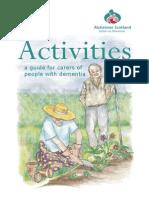 Activities for Dementia