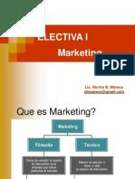 FPUNA - Electiva I - Marketing - Clase (1)