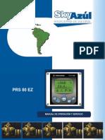PRS 80EZ Skyazul Manual