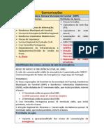Plano de Comunicações - Curso CEFA