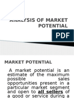 Sales Management-Market Potential-sales potential and sales forecasting