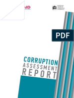 Corruption Assessment Report