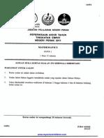Matematik Kertas 1,2 Tingkatan 4 PAT 2011 Perak.pdf