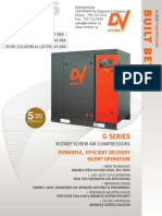 G Series20hp 25hp 30hp Rotary Screw Compressor Brochure
