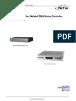 INetVu Quickstart Guide for 7000 Series Controller - IDirect (V2.3)