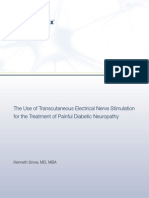 Use of Transcutaneous Electrical Nerve Stimulation in PDN