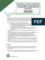 Flammables Bulk Storage Standard Draft r9