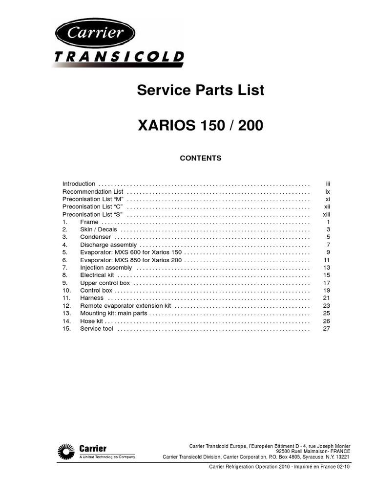 62 60599 01 rh es scribd com Xarios Support Xarios Software
