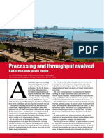 Processing and throughput evolved - Bakhresa port grain depot