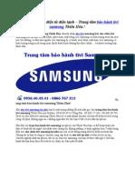Trạm Bảo Hành Tivi Samsung Thiên Hòa