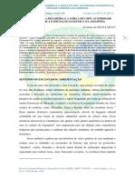 O Etnógrafo,A Rezadeira e a Cerca de Cipó-Autoridade Etnográfica e Iniciação Xamânica Na Amazônia