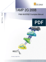 PAM-STAMP 2008 Manual de Exemplo Inverse - 2008
