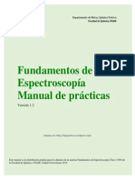 Manual fundamentos de espectroscopia