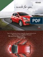 Honda Brio Brochure