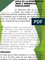 FARMACOTERAPIA EN LA DEMENCIA DE ALZHEIMER Y DEMENCIAS.pptx