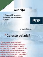 Balada Populara Miorita